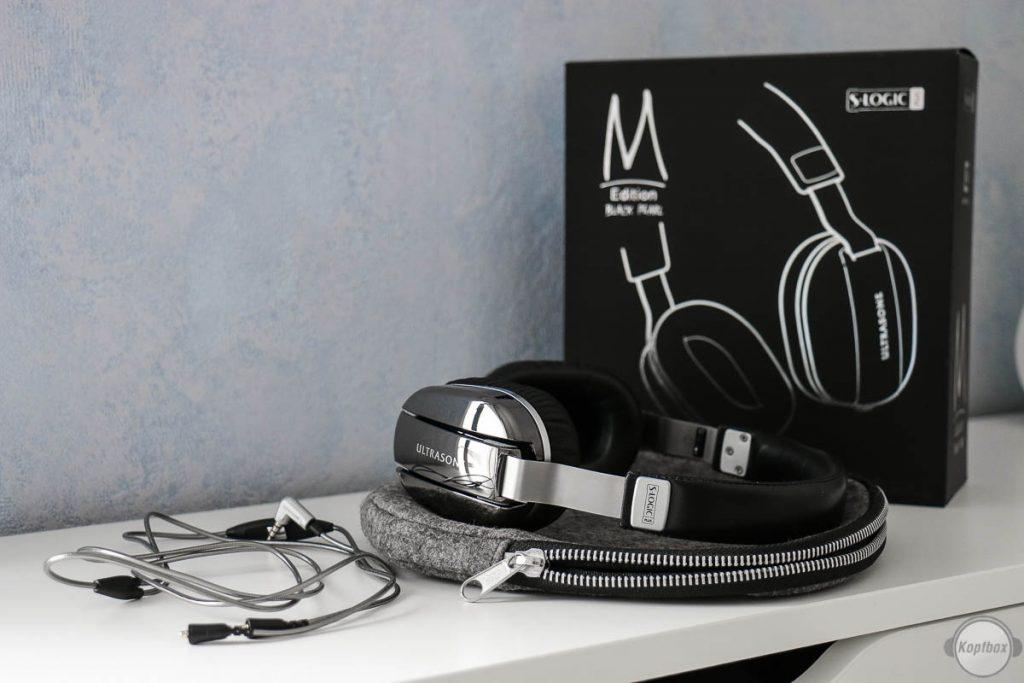 Ultrasone Edition M Black Pearl - Lieferumfang